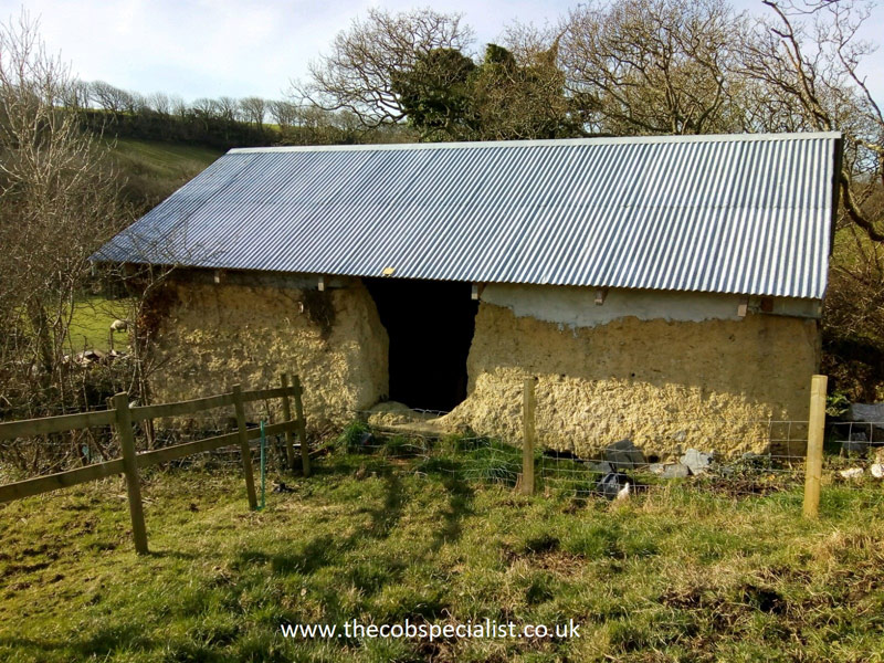 cob-barn survey Cornwall